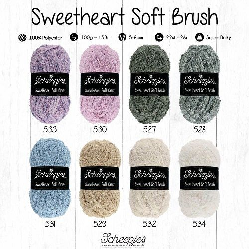 Sweetheart Soft Brush Scheepjes